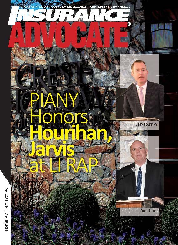 Insurance Advocate Magazine May 15, 2016