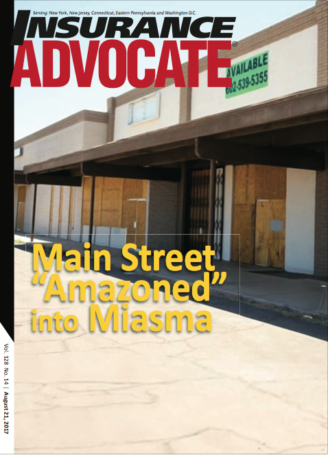 Insurance Advocate August 21 cover